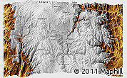 Physical 3D Map of Riobamba