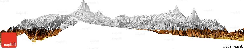 Physical Horizon Map of Riobamba