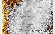 Physical Map of Latacunga
