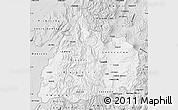 Silver Style Map of Cotopaxi