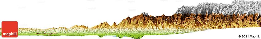 Physical Horizon Map of El Oro