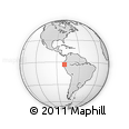 Outline Map of Machala