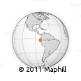 Outline Map of El Oro