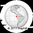 Outline Map of Zaruma