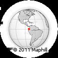 Outline Map of Esmeraldas