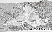 Gray 3D Map of Imbabura