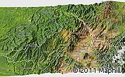Satellite 3D Map of Imbabura
