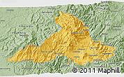 Savanna Style 3D Map of Imbabura