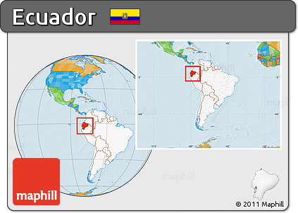 Free political location map of ecuador highlighted continent political location map of ecuador highlighted continent within the entire continent gumiabroncs Image collections
