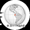 Outline Map of Los Rios