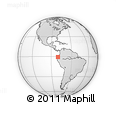 Outline Map of Manabi
