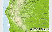 Physical Map of Pajan