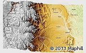 Physical 3D Map of Huamboya