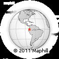 Outline Map of Huamboya