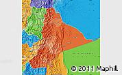 Political Shades Map of Morona Santiago