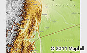 Physical Map of Morona