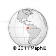 Outline Map of Napo