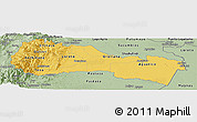 Savanna Style Panoramic Map of Napo