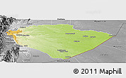 Physical Panoramic Map of Pastaza, desaturated