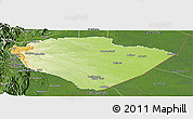 Physical Panoramic Map of Pastaza, satellite outside