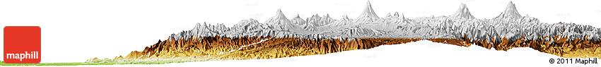 Physical Horizon Map of Pichincha