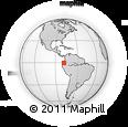 Outline Map of Mejia