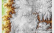 Physical Map of Ambato