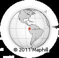 Outline Map of Ambato