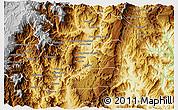 Physical 3D Map of El Pangui