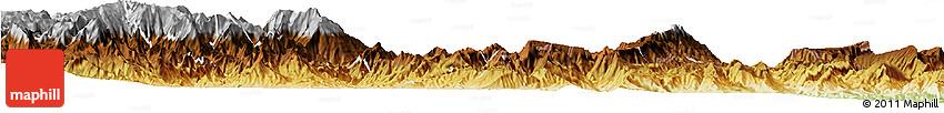 Physical Horizon Map of El Pangui