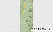 Savanna Style Map of Zona No Delimtda