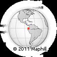 Outline Map of Zona No Delimtda