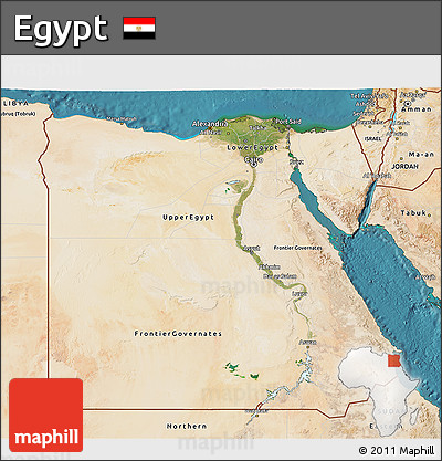 Free Satellite D Map Of Egypt - Map of egypt 3d