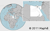 Blank Location Map Of Egypt Physical Outside - Unlabeled map of egypt