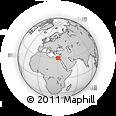 Outline Map of Al Buhayrah (Behera)