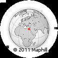 Outline Map of Al Minufiyah (Menoufia)