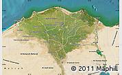 Satellite Map of Lower Egypt