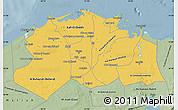 Savanna Style Map of Lower Egypt