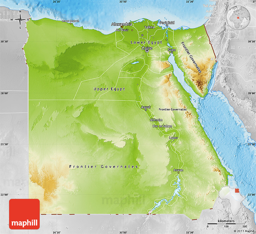 the geography of egypt Egypt, kush, and canaan all developed civilizations early on because the geography encouraged it all three are in the fertile river valleys surrounded by harsh deserts egypt, located where the nile river empties into the mediterranean sea, was.