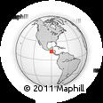 Outline Map of Ahuachapan