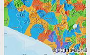 Political Map of Ahuachapan