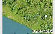 Satellite Map of Ahuachapan