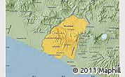 Savanna Style Map of Ahuachapan