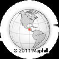 Outline Map of San Pedro Puxtla