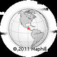 Outline Map of Sensuntepeque