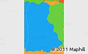 Political Simple Map of Lislique