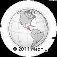 Outline Map of Nueva Esparta