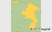 Savanna Style Simple Map of Poloros