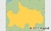 Savanna Style Simple Map of Jocoaitique