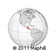Outline Map of San Miguel